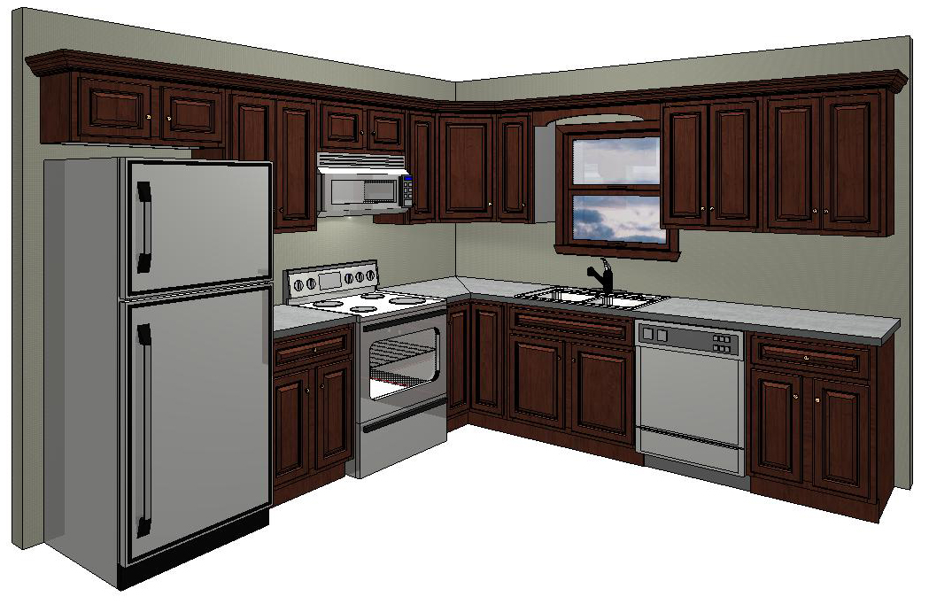 10x10 kitchen cabinets cost kitchen cabinets measurement design and layout 10016